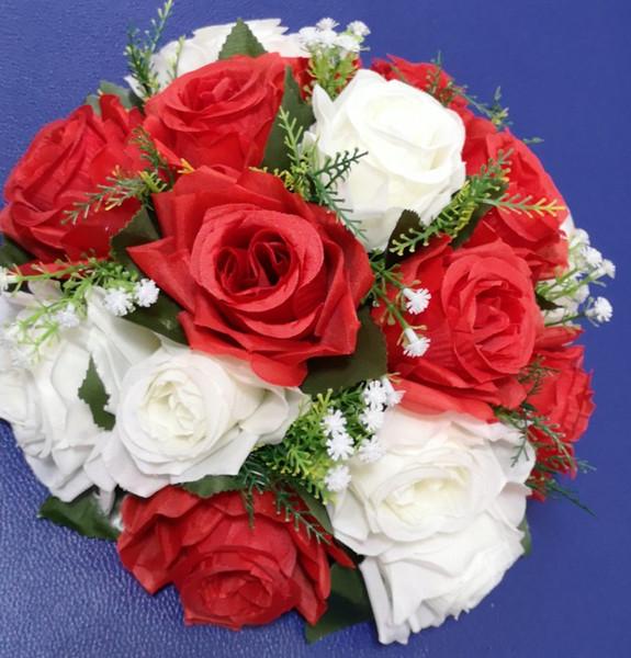flower ball red
