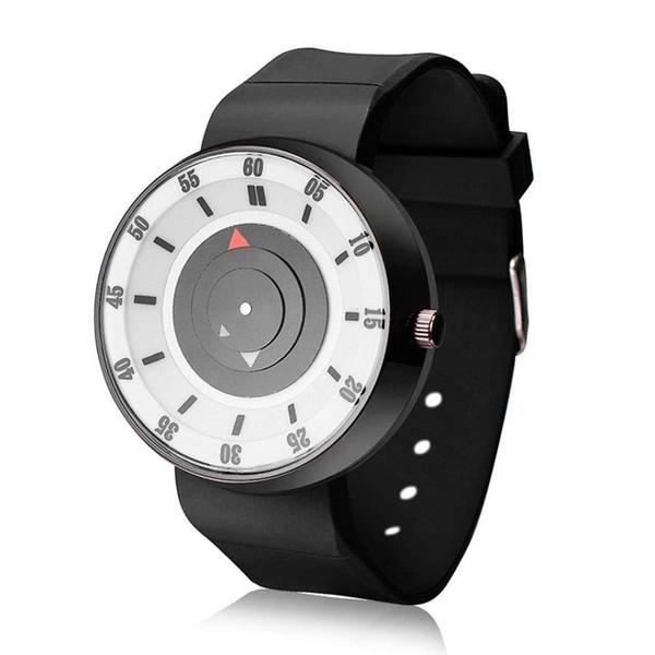 нейтральная роскошная концепция аналоговые Кварцевые спортивные наручные часы из нержавеющей стали YE (Белый )