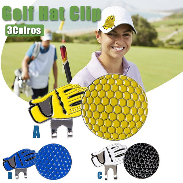Golf Hat Cap Clip Marker Golf Accessories Ball Magnetic Hat Clips