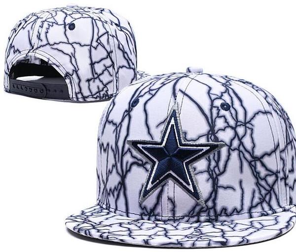 2020 оптовая цена быка шапка DAL шапка Dallass HAT Регулируемая Snapback Hat Женщины мужчины Бейсболки для взрослых Acceap заказ смешивания 08