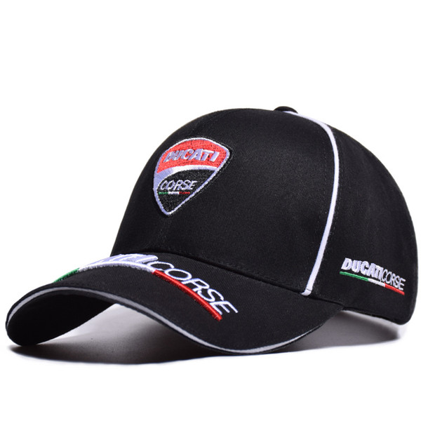 Washed hat off-road motorcyclist / line locomotive / doucat racing duck tongue running cool hat two vertical English racing cap