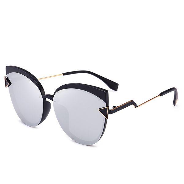 1f7d06f1cec0a 2019 marca espelho óculos de sol marca de luxo moda cat eye óculos de alta  qualidade proteção uv mulheres eyewear designer de moda óculos de sol
