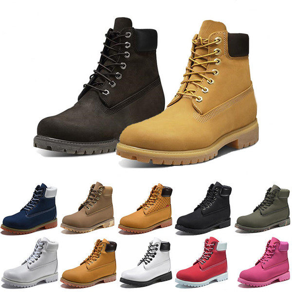 timberland boots Luxe Botte High Party Chaussures Classic Couple Casual Chaussures En Cuir Véritable Hommes Designer Femmes À Talons Hauts Robe Chaussure Sports Tennis Sneakers