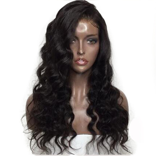 Natural Full Lace Human Hair Wigs For Women