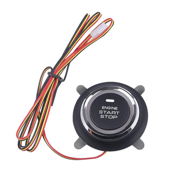 Botón de encendido de inicio Placa de circuito del motor del coche 12V Interruptor de parada del motor de arranque de arranque Start Stop botón