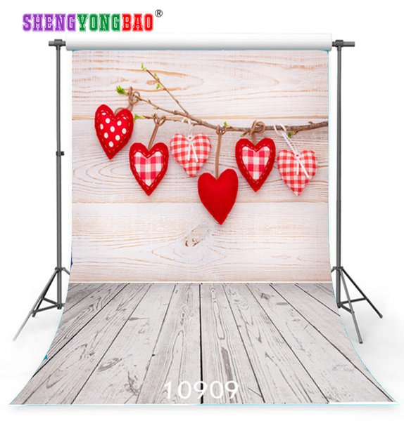 Vinyl Custom Photography Backdrops Prop Valentine day Photo Studio Background JLT-10909