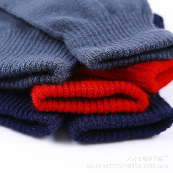 Осень и зима новый стиль Обычный цвет плюс перчатки Волшебные Вязаные теплые перчатки Производители прямые продажи Оптовые