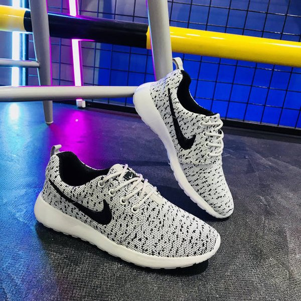 top popular 2019 autumn flying woven sports women breathable wild ins running shoes couple casual step dance shoes men's shoes 2019