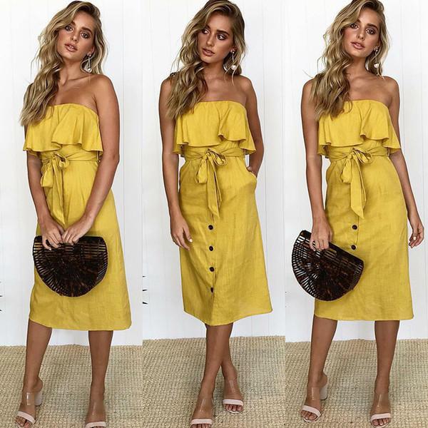Moda Casual Summer Solid Dress Vestidos De Festa Club vestidos de fiesta de alta calidad nuevas mujeres fuera del hombro Sexy vestido de mujer