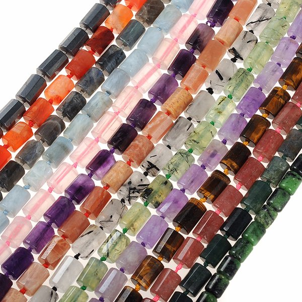 14colors Natural Stone Beads Gravel Chips beads Bamboo shape Chips Beads For DIY Necklace Bracelet Jewelry Making Accessories