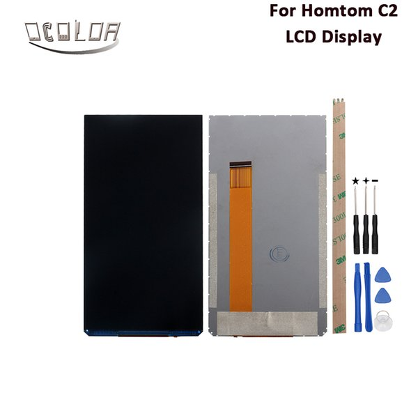ocolor For Homtom C2 LCD Display Screen 5.5'' Replacement Repair Parts For Homtom C2 LCD Display Mobile Accessories With Tools