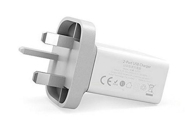 Caricatore USB Plug 2 Port 17W 3.4A Caricabatteria per iPhone X, 8, 7, iPad Air, iPad Pro, per Galaxy Note 8, S9, S8, Banca di alimentazione del telefono, MP3, T