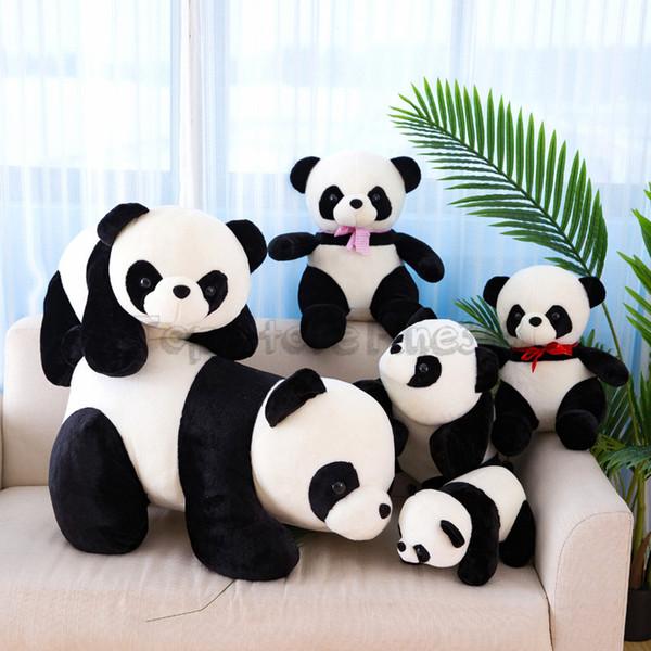 Panda Stuffed Animals Doll PP Cotton Plush Toys 20/25/30CM Cartoon Panda Stuffed toy Best Girls For Kids Toys