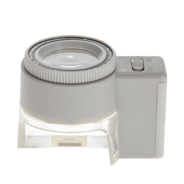 8X Ayarlanabilir Büyüteç Büyüteç Lens Işıklı Standı mikroskop büyüteç ile LED Işık Ölçekli Büyüteç Aracı lupa