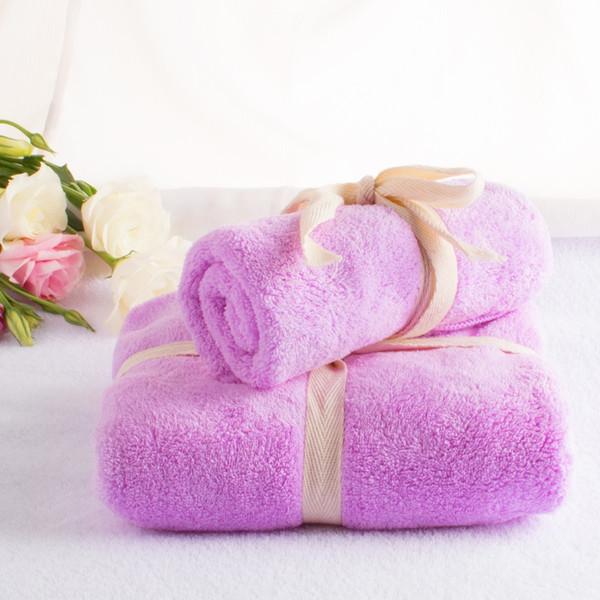 2pc/set Microfibre Towel Super Absorbent Travel Plush Cheap Bath Towel Quick-Dry Beach Towels swimming Spa For Adult kids