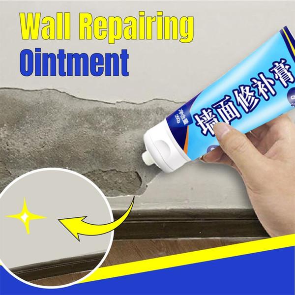 Riparazione di pareti bianche Crema Mastice Graffi per pareti interne Riparazione di crepe Lattice Strumenti per la decorazione di vernice Raschiare Rivestimento Famiglia