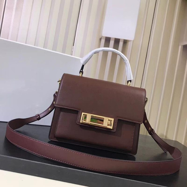 2018 the latest model of the counter high quality new handbag women fashion baggenuine leather cross bag