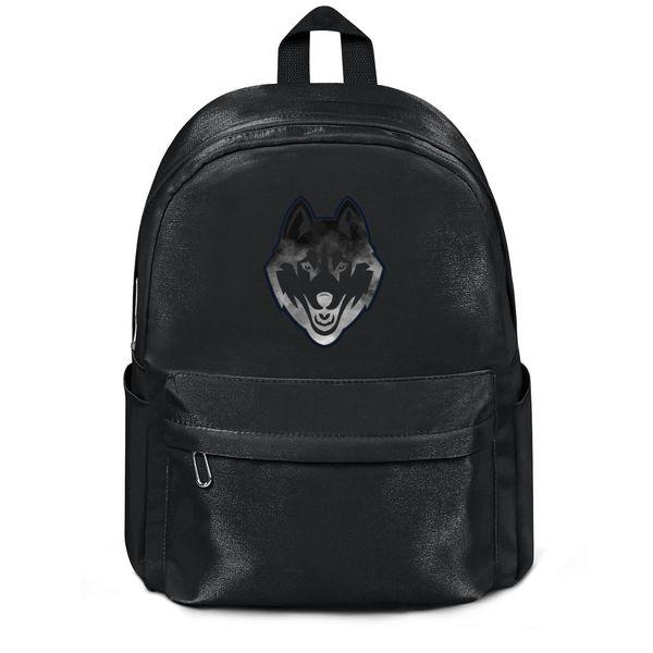 Package,backpack UConn Huskies basketball Core Smoke logo black cool cutepackage daily limited edition Travel Beachbackpack