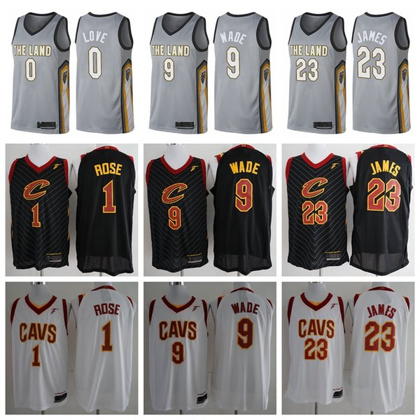 2018-2019 Cleveland Men s Cavaliers jersey Swingman Basketball Jersey 0 Kevin  Love 23 LeBron James 7331036e0