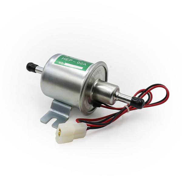 Pompe à essence électrique universelle pour voiture 12V essence essence diesel essence basse pression pompe à essence HEP-02A