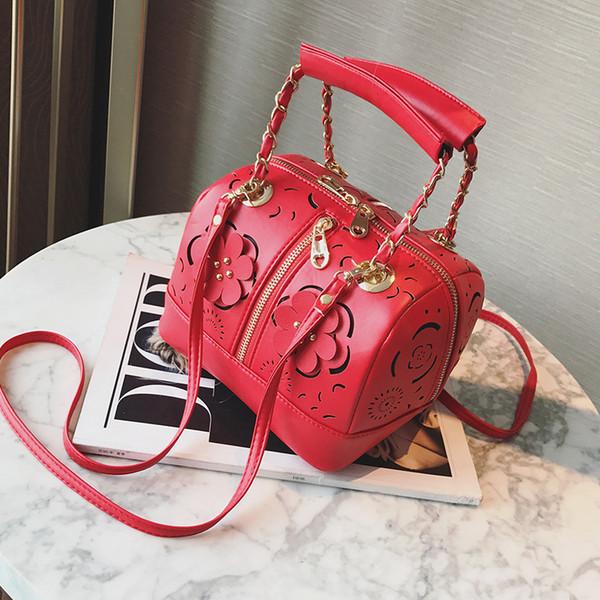 Freies Verschiffen 2019 Neue Frau Freizeit Handtaschen Trend Umhängetasche Einfache Koreanische Version Frauen Tasche Mode Hochzeit Kissen Tasche