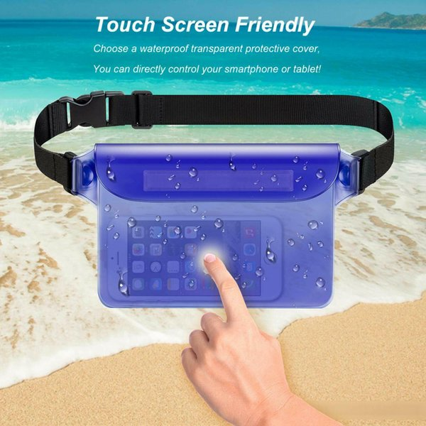 Nice Waterproof Drift Diving Swimming Bag Underwater Dry Shoulder Waist Pack Bag Pocket Pouch For For Iphone Cell Phone