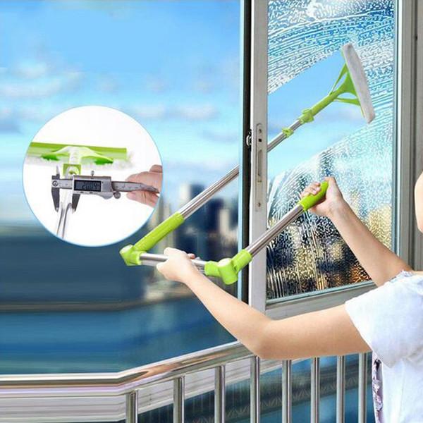 Nuovo telescopico High-rise vetro di pulizia Spugna Mop Multi Cleaner Spazzola per la polvere di lavaggio Easy Clean The Windows Hobot Q190603