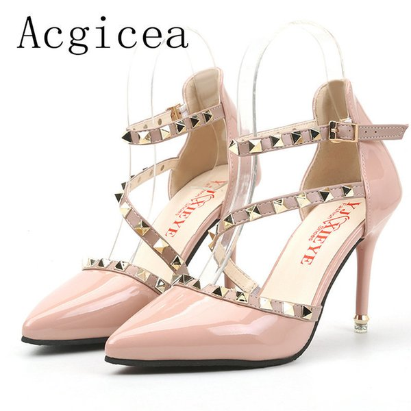 Marke Elegante sandalen Frauen High Heels Pumps Super high