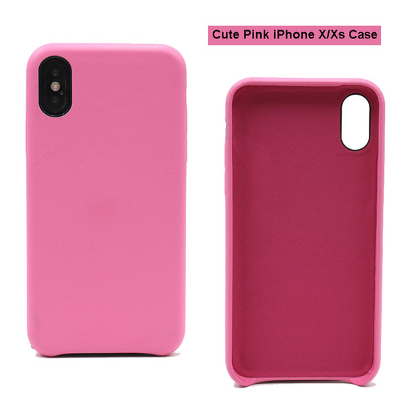 For Apple iPhone Xs Hot Sales PU Leather Case Cheap Price Shell For IX From Drop Phone Case
