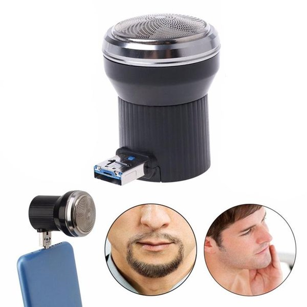 Rechargeable Electric Shaver Stylish Mini Electric Shaver Beard Trimmer Razor With USB Wireless Charging Port Electric Razor Free Ship BB