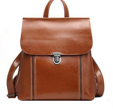 New Autumn And Winter Genuine Leather Alligator Grain Backpack High Quality Women Leather Backpack Wholesale Price