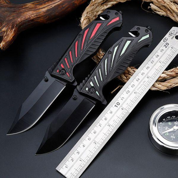 Jungle Wild High Hardness Folding Knife Survival Multifunction Folding Knife Self-defense Outdoor Cutter
