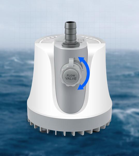 Alta Qualidade 35 W Aquário Bomba Submersível 2000L / H Fluxo de Água Ajustável Da Bomba 220 V para Tanque Da Fonte Da Lagoa