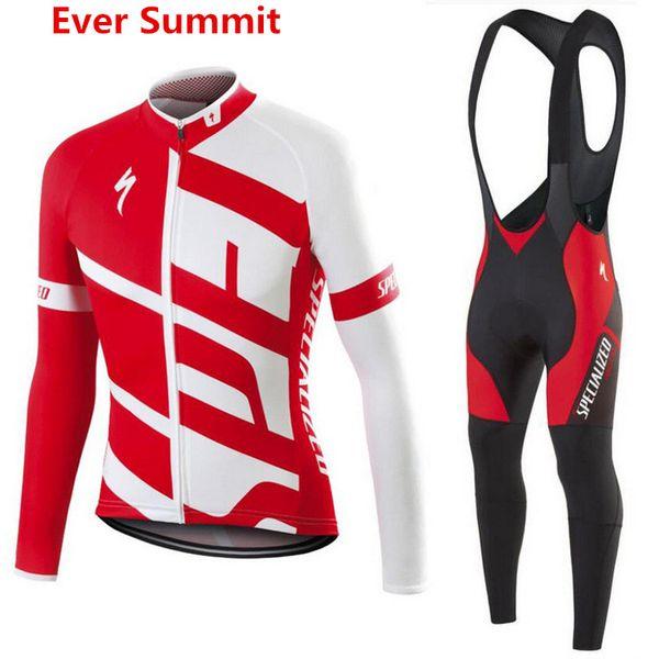 Pro Team Cyclisme Jersey De Sport À Manches Longues Maillot Bit VTT Vêtements De Cyclisme Ropa Ciclismo Maillot Vélo Vêtements hommes chemise de designer Racing Suit