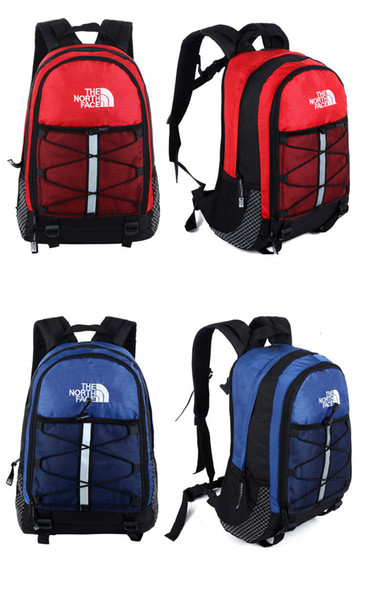 IN STOCK The North F Backpack Casual Backpacks Reflective Stripe Teenager Students 41x27x18cm School Bag 9 Colors Fast Ship