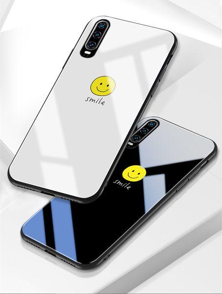 Avec sangle BYL Huawei P30 affaire de téléphone portable mode simple fille d'amour