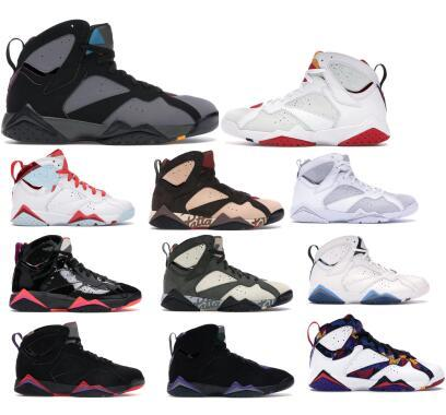 mens 7 basketball shoes patta shimmer icicle nothing but net bordeaux hare z mist pure platinum grey patent 7s new trainers sneakers
