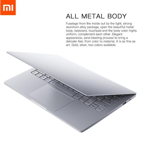 Novo Xiaomi Mi Laptop Notebook Ar Inglês Windows 10 Intel Core M3-7Y30 CPU 4 GB DDR3 RAM Intel GPU display de 12.5 polegada SATA SSD