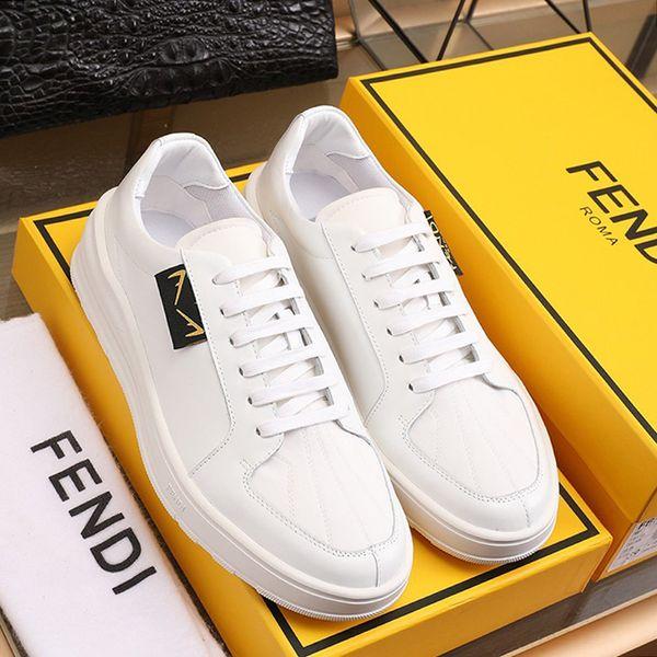 Drop Ship Herrenschuhe Fashion Classic Leder Art Schuhe Sport Low Top Luxus Lässige Herren Schuhe Chunky Turnschuhe Scarpe da uomo di Lusso