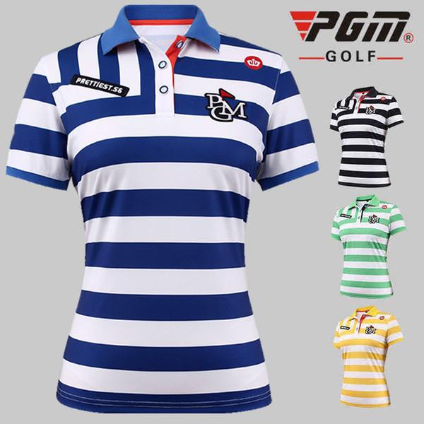 top popular women Breathable Golf Polo Shirt Women Short Sleeved Quick Dry T-shirt Summer Sports Jersey Stand collar Sportswear AA60453 2019