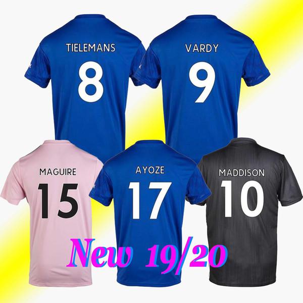 Maillot de football de Leicester 19 20 maillot de football CITY 2019 2020
