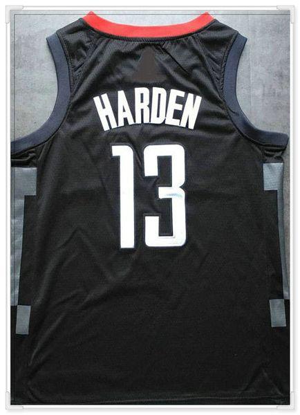 Houston # 13 Harden -black come foto