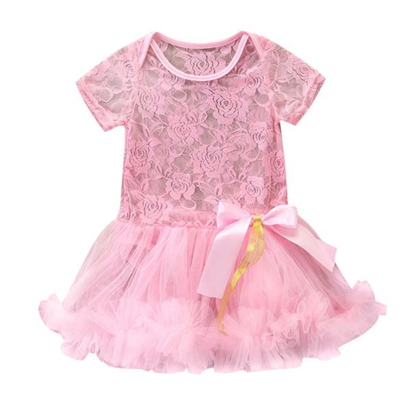 MUQGEW Baby Boy Girls Clothes Newborn Kids Baby Girl Outfits Clothes Lace Tulle Romper Jumpsuit Princess Dress roupas infantis