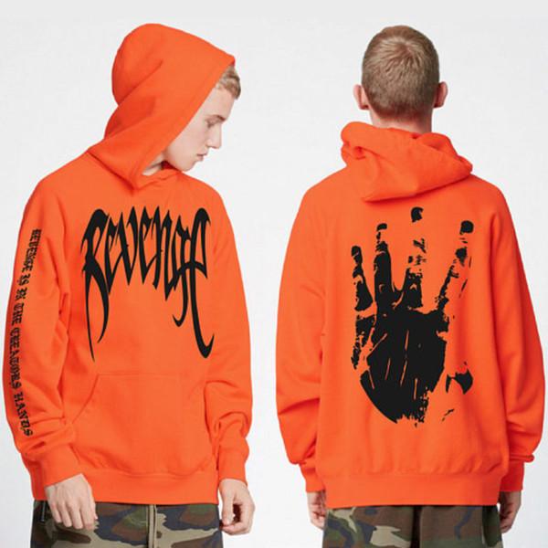 Hot Revenge Brief DruckHoodie Sweatshirts Xxxtentacion Hoodies Sad Rapper Hip Hop Hoodie Swag Baumwolle Hoody Sweatshirt