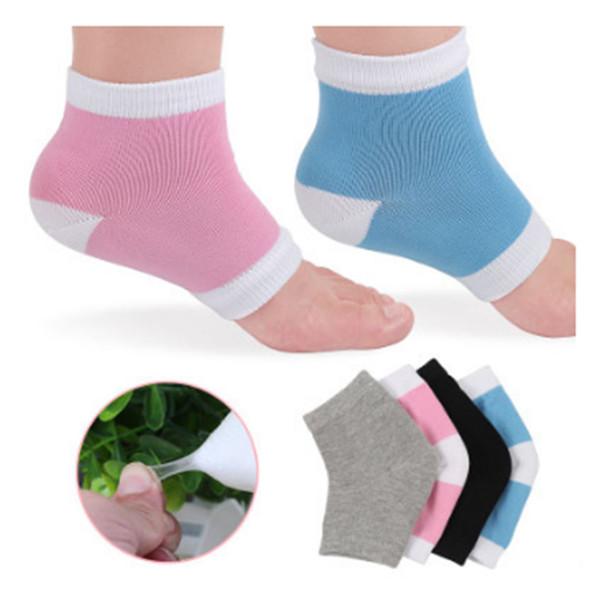 Silicone Gel Heel Socks Moisturing Spa Gel Socks feet care Cracked Foot Dry Hard Skin Protector Maquiagem
