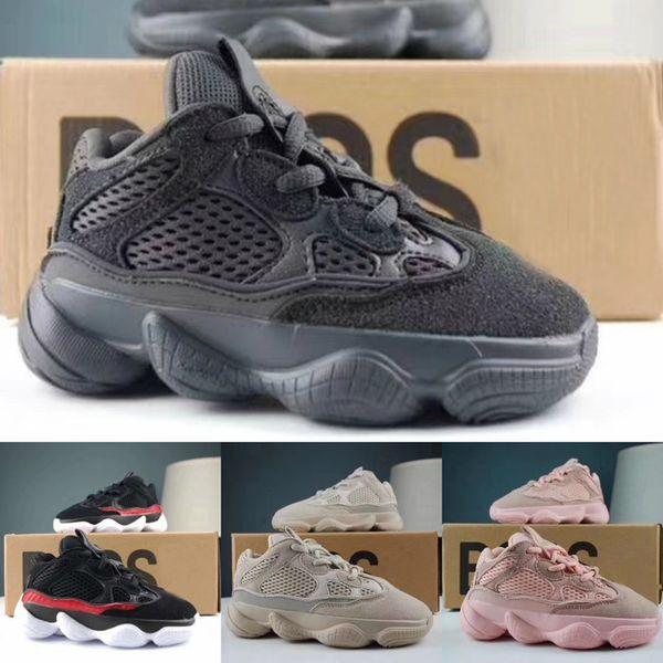 Calçados infantis Onda Runner 500 Tênis Kanye West Sneaker Baby Girl Boy Trainer Sneakers Esporte Crianças Calçados Esportivos