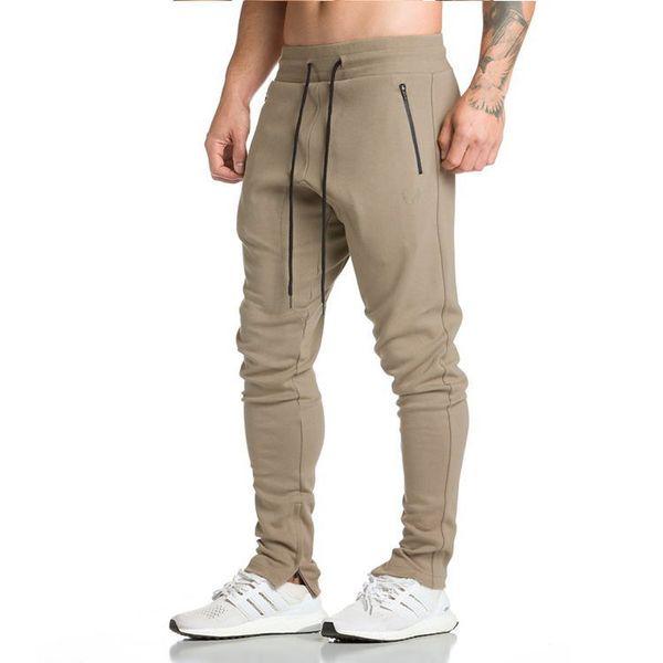 Nuevos hombres Pantalones para correr Fitness Entrenamiento Casual Pantalones Deportes al aire libre Ocio Hip Hop Hombre Gimnasio Leggings Entrenamiento Lápiz Jogging