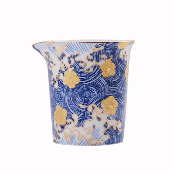 Promozione Smalto a colori Cha Hai 200ml Tazze da fiera in ceramica Accessori per tè Kung Fu cinesi fatti a mano Set da tè dipinto a mano