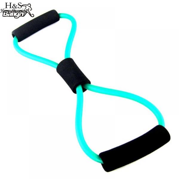 Belt Expander Rope Sport Chest Care Body Tension Shape Fitness Yoga Random Color Durable Elastic Pilates