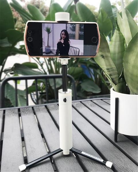 Selfie Stick Treppiedi Monopodi Bluetooth Telecomando Foto Bellezza Luce Multifunzione Selfie Estensibile Autoritratto Bastone Artefatto DHL